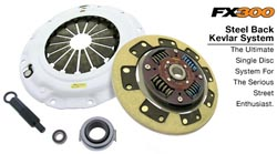 Clutch Masters FX300 Kevlar Steel Back System: 90-99 Eclipse