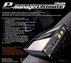 GReddy E-Manage Ultimate *SALE*