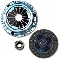 Exedy Stage 1 Organic Clutch Kit: 92-00 Honda Civic