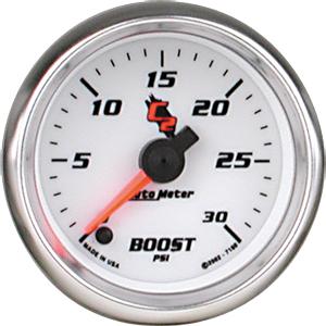 Auto Meter C2 Gauge : Boost 0-30 PSI