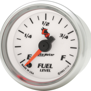 Auto Meter C2 Gauge : Fuel Level