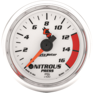 Auto Meter C2 Gauge : Nitrous Pressure