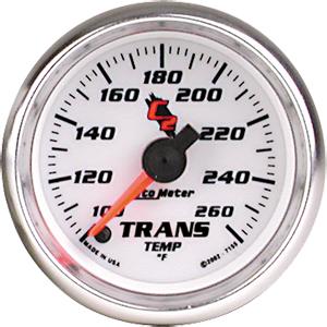 Auto Meter C2 Gauge : Trans. Temp 100-260 deg. F