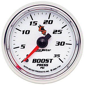 Auto Meter C2 Gauge : Boost 0-35 PSI