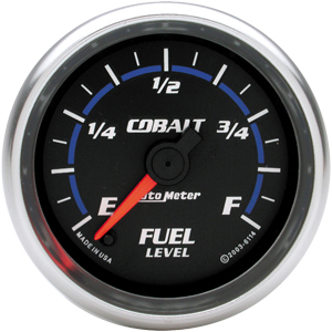 Auto Meter Cobalt Gauge : Fuel Level