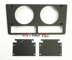 VI Dual 60mm Gauge Bezel w/ Dual Profec: Subaru STi 04-06 *Clearance*