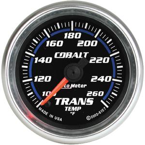 Auto Meter Cobalt Gauge : Trans. Temp 100-260 deg. F