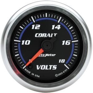 Auto Meter Cobalt Gauge : Voltmeter