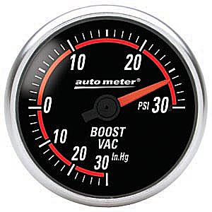 Auto Meter Nexus Gauge : Boost / Vacuum 30 In Hg.-Vac./30 PSI