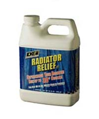 DEI Radiator Relief Additive: 32oz Bottle