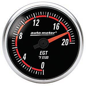 Auto Meter Nexus Gauge : Pyrometer 0-2000 deg. F