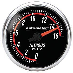 Auto Meter Nexus Gauge : Nitrous Pressure 0-1600 PSI