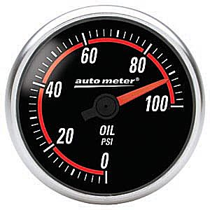 Auto Meter Nexus Gauge : Oil Pressure 0-100 PSI