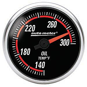 Auto Meter Nexus Gauge : Oil Temp. 140-300 deg. F