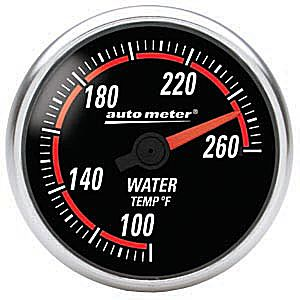 Auto Meter Nexus Gauge : Water Temp. 100-260 deg. F