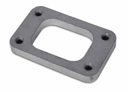 """Vibrant T3 Turbo Inlet Flange w/ Tapped Holes (1/2"""" Thick)"""