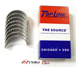 Topline Rod Bearings: Mitsubishi Eclipse 6 Bolt
