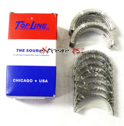 Topline Main Bearings: Mitsubishi Eclipse 6 Bolt
