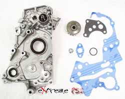 Topline Oil Pump Assembly: Mitsubishi Eclipse 6 Bolt