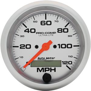 Auto Meter Ultra-Lite Gauge : Speedometer 0-120 MPH