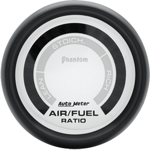 Auto Meter Phantom Gauge : Air/Fuel Ratio