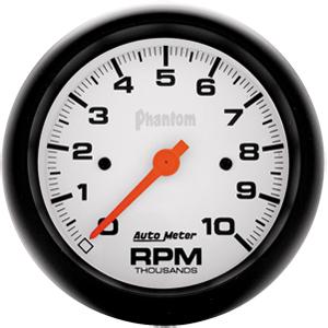 Auto Meter Phantom Gauge : Tachometer