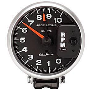 Auto Meter Sport-Comp Gauge : Tachometer Monster 10000 RPM
