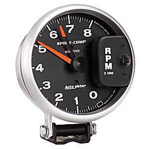 Auto Meter Sport-Comp Gauge : Tachometer Monster 8000 RPM