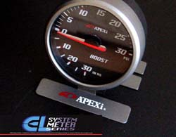 Apexi EL2 System Meter: 60mm Mechanical PSI Boost Gauge Black
