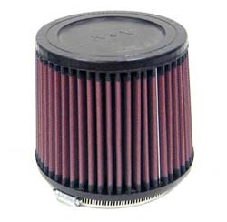 "K&N Universal High Flow Air Filters: 4.5"" Inside Diameter, 5.0"" Height"