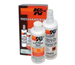 K&N Air Filter Cleaning Kit (Squeeze Bottle)