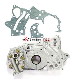 OEM Oil Pump Front Case : Mitsubishi Eclipse 7 Bolt