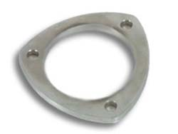 Vibrant 3-Bolt Stainless Steel Flanges