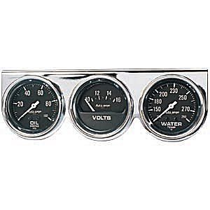 Auto Meter Autogage Gauge : Three Gauge