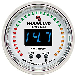 Auto Meter C2 Gauge : Wideband Air/Fuel Ratio