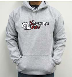 Extreme PSI Pull-Over Hoodie ver. 1: Heather Grey *SALE*