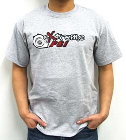 Extreme PSI Pre-Shrunk T-Shirt: Heather Grey