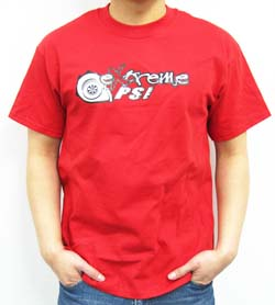 Extreme PSI Pre-Shrunk T-Shirt: Red