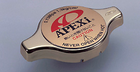 Apexi GT Radiator Cap 1.3kg/cm2: Type 2 (Most Honda, Some Toyota)