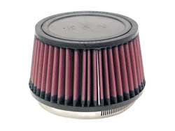 "K&N Universal High Flow Air Filters: 4.5"" Inside Diameter, 3.25"" Height"