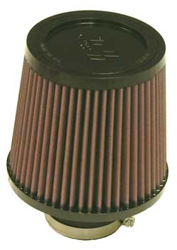 "K&N Universal High Flow Air Filters: 2.5"" Inside Diameter, 5.5"" Height"