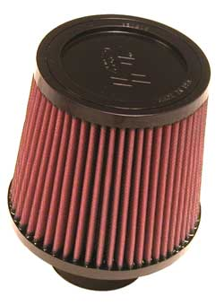 "K&N Universal High Flow Air Filters: 2.75"" Inside Diameter, 5.5"" Height"