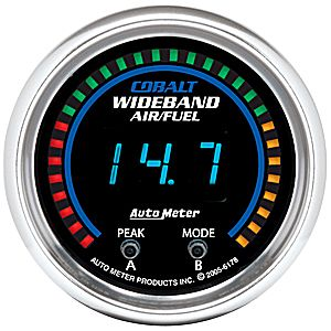 Auto Meter Cobalt Gauge : Wideband Air/Fuel Ratio