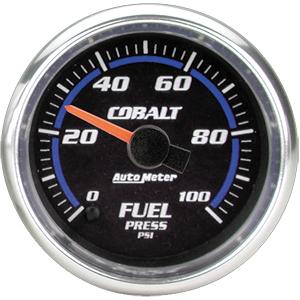 Auto Meter Cobalt Gauge : Fuel Pressure 0-100 PSI