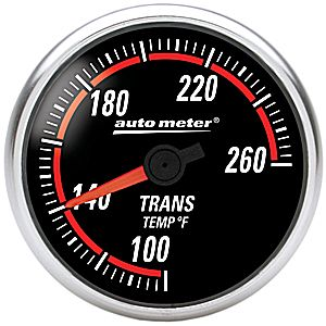Auto Meter Nexus Gauge : Trans Temp 100-260 deg. F