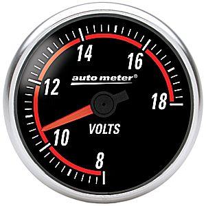 Auto Meter Nexus Gauge : Voltmeter