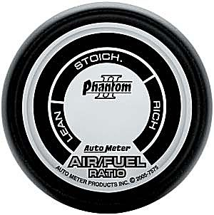 Auto Meter Phantom II Gauge : Air / Fuel Ratio