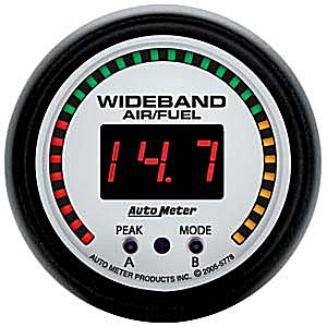 Auto Meter Phantom Gauge : Wideband Air/Fuel Ratio