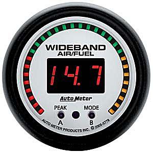 Auto Meter Phantom Gauge : Wideband Air/Fuel Ratio