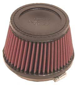 "K&N Universal High Flow Air Filters: 4.0"" Inside Diameter, 3.5"" Height"